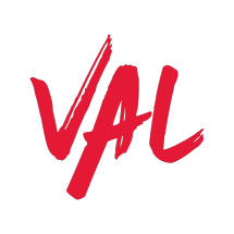 Logo VAL by Valerie Thomas