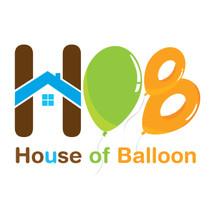 Logo House Of Balloon