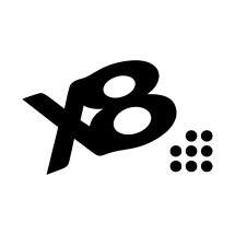 Logo x8 Clothing
