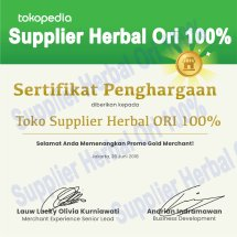 Logo Supplier Herbal ORI 100%