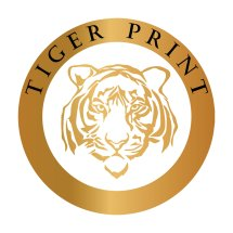 Logo Tiger Print