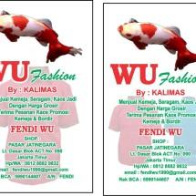 Logo Wu Fashions
