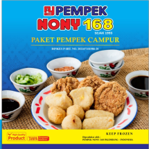 Logo Pempek NONY 168 Official