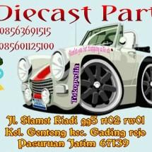Logo diecast part