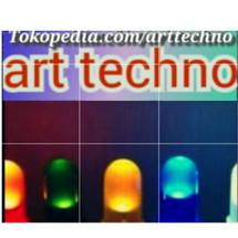 Logo art techno
