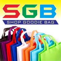 Logo shop goodie bag