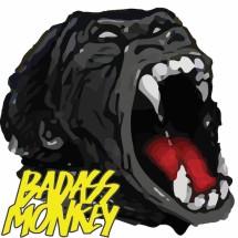 Logo Badass Monkey Indonesia