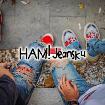 Logo HAM! Jeansku