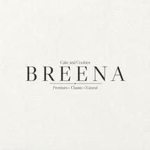 Logo Breena Cake and Cookies