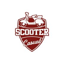 Logo scooter casual