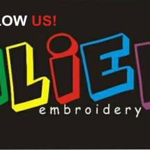 Logo aliefembroidery