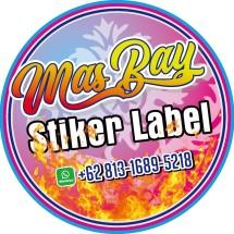 Logo Masbay Sticker Label