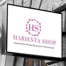 Logo HARIESTA SHOP