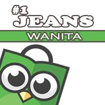 Logo no1 jeans wanita