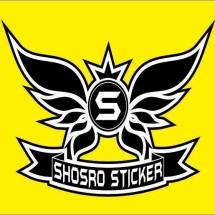 Logo SHOSRO STICKER PURWAKARTA