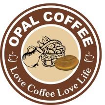 Logo Opal Coffee Indonesia