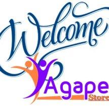 Logo agape online store