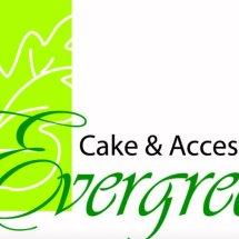 Logo Toko Bahan Kue Evergreen