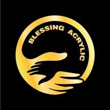 Logo Blessing acrylic