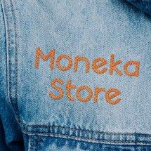 Logo Moneka Store