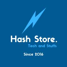 Logo Hash Store.