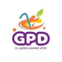 Logo Golden Powder Drink