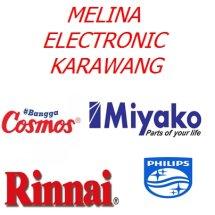 Logo melina electronic