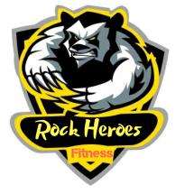 Logo Rock heroes