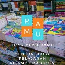 Logo Toko buku Ramu