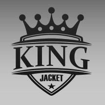 Logo king jacket