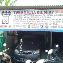 Logo Toko mulya oil shop