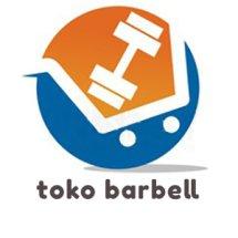 Logo toko barbell