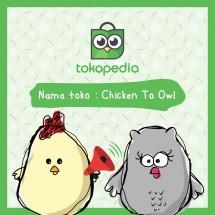 Logo Chicken To Owl