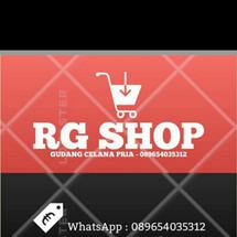 Logo r.g shop bandung