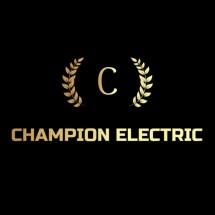 Logo Champion Electric