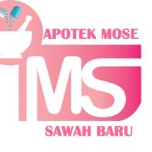 Logo Apotek Mose Sawah Baru