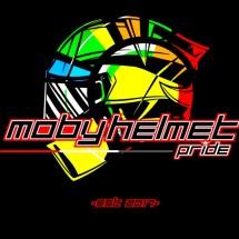 Logo Moby Helmet Pride