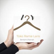 Logo Toko Rame Laris