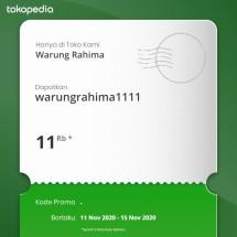 Logo Warung Rahima