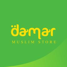 Logo Damar Muslim Store