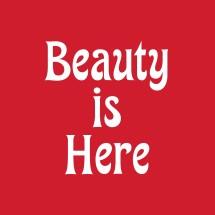 Logo Beauty is Here