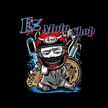 Logo Ez Moto Shop