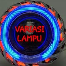 Logo variasi lampu