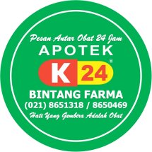 Logo Apotek Bintang Farma K24