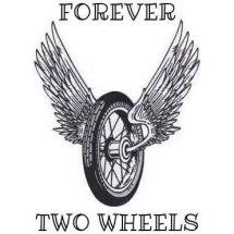 Logo Forever two wheel