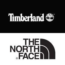Logo Timberland & North Face