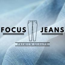 Logo Focus jeans store
