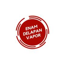 Logo ENAM DELAPAN VAPOR
