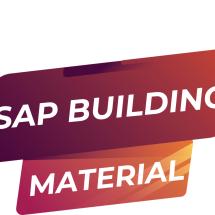 Logo SAP BUILDING MATERIAL