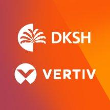 Logo DKSH Vertiv E-store